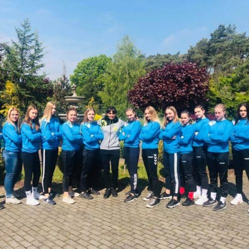 Mistrzostwa Poski Juniorek Mlodszych Dopiewo 10.05.2019