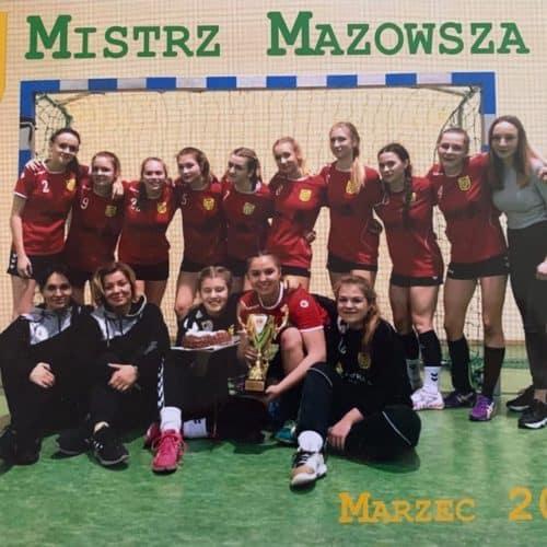 Mistrzynie Mazowsza .Marzec 2019 r