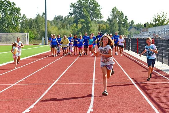 mistrzostwa w biegach dzieci i mlodziezy